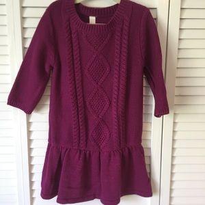 Girls - Cherokee Sweater Dress - Size 6/6x